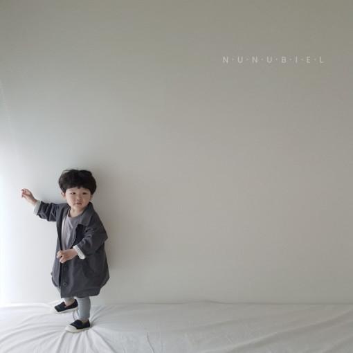 NUNUBIEL - BRAND - Korean Children Fashion - #Kfashion4kids - Simple Cotton Coat