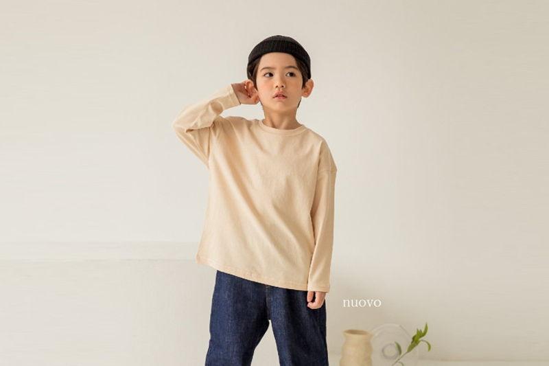 NUOVO - BRAND - Korean Children Fashion - #Kfashion4kids - Mono Tee