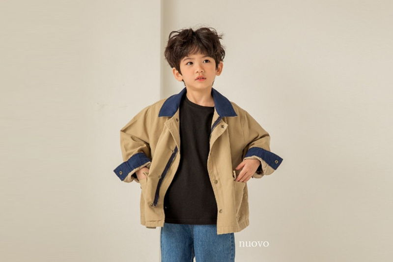 NUOVO - BRAND - Korean Children Fashion - #Kfashion4kids - Bonnet Jacket