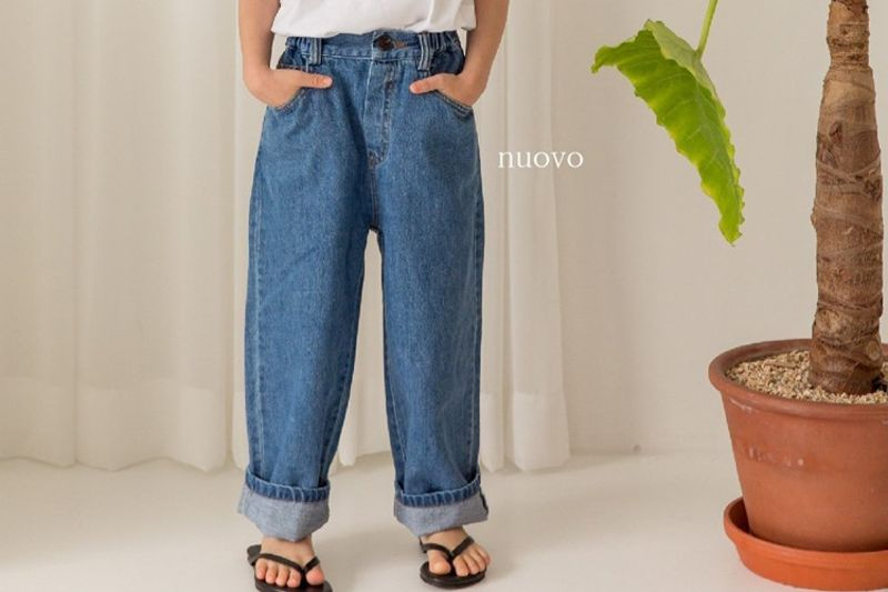 NUOVO - BRAND - Korean Children Fashion - #Kfashion4kids - Boy Denim Pants
