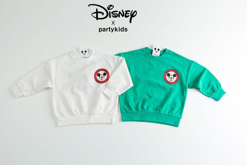 PARTY KIDS - BRAND - Korean Children Fashion - #Kfashion4kids - 1928 Mickey Tee