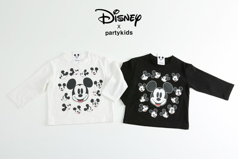 PARTY KIDS - BRAND - Korean Children Fashion - #Kfashion4kids - Playful Mickey Tee