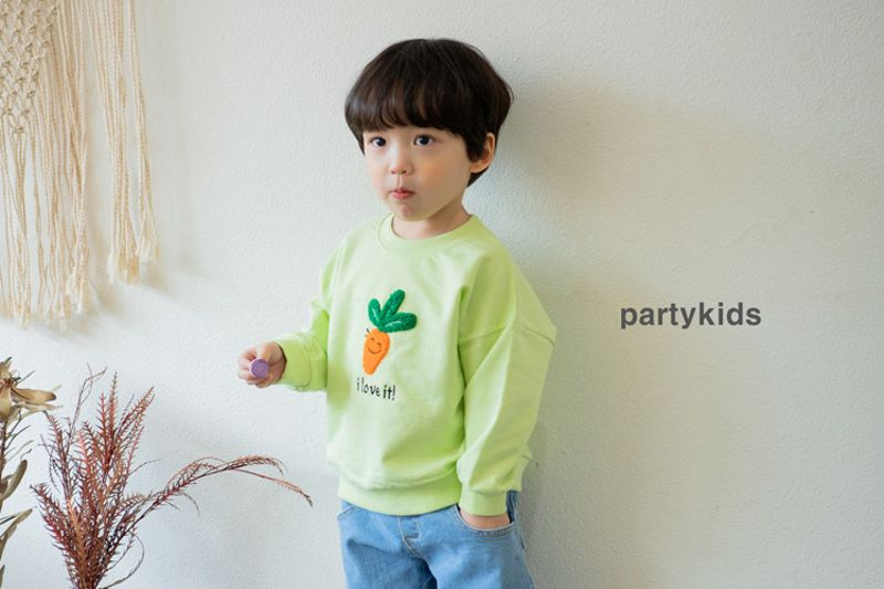 PARTY KIDS - BRAND - Korean Children Fashion - #Kfashion4kids - Carrot Tee