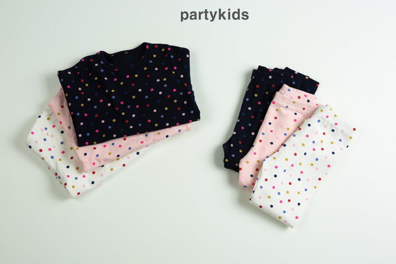 PARTY KIDS - BRAND - Korean Children Fashion - #Kfashion4kids - Dot Easywear