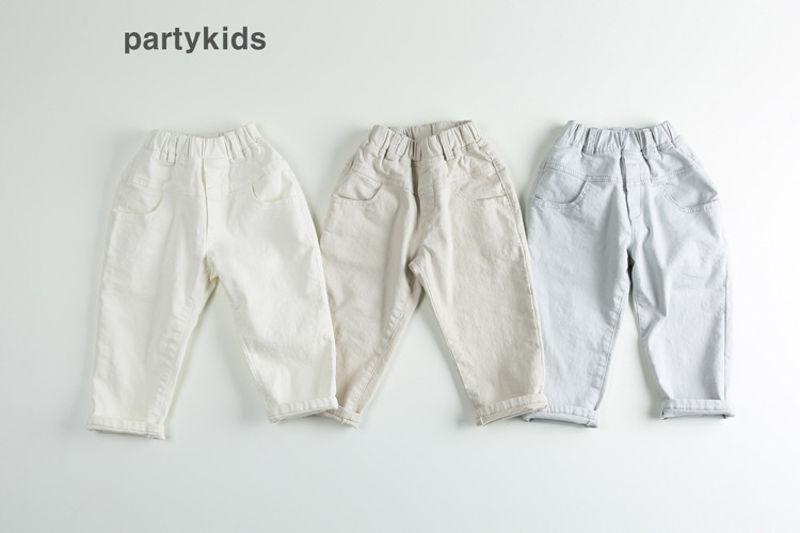 PARTY KIDS - BRAND - Korean Children Fashion - #Kfashion4kids - Cotton Moldive Pants