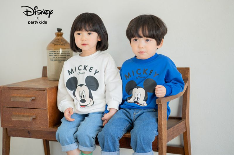 PARTY KIDS - BRAND - Korean Children Fashion - #Kfashion4kids - Mickey Mouse MTM