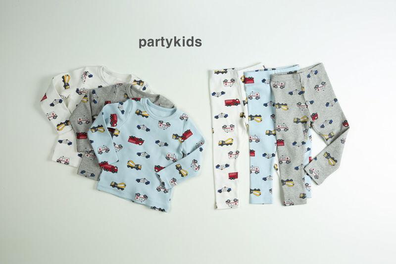 PARTY KIDS - BRAND - Korean Children Fashion - #Kfashion4kids - Car Easywear