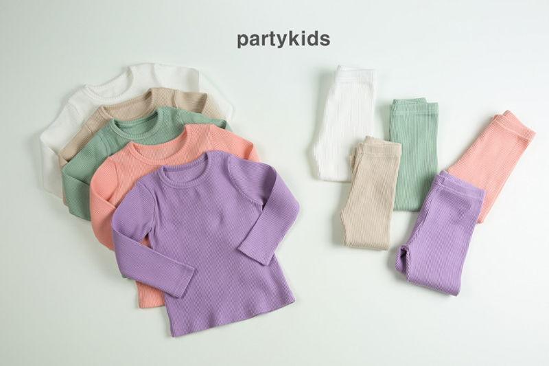 PARTY KIDS - BRAND - Korean Children Fashion - #Kfashion4kids - Rib Easywear