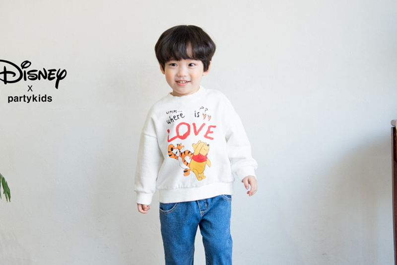 PARTY KIDS - BRAND - Korean Children Fashion - #Kfashion4kids - Tiger & Pooh MTM