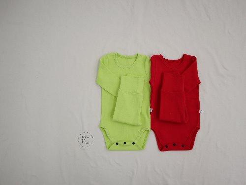 PEEKABOO - BRAND - Korean Children Fashion - #Kfashion4kids - Cody Bodysuit with Pants