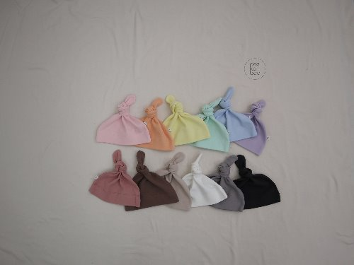 PEEKABOO - BRAND - Korean Children Fashion - #Kfashion4kids - Spring Knot Hat
