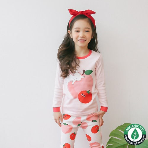 PUCO - BRAND - Korean Children Fashion - #Kfashion4kids - Sleeping Baby Rabbit Easywear
