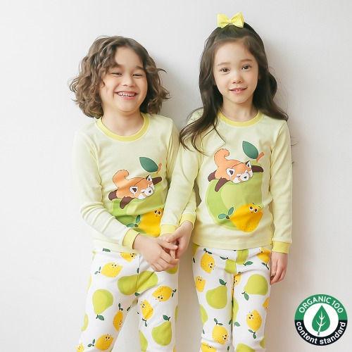 PUCO - BRAND - Korean Children Fashion - #Kfashion4kids - Sleeping Baby Panda Easywear