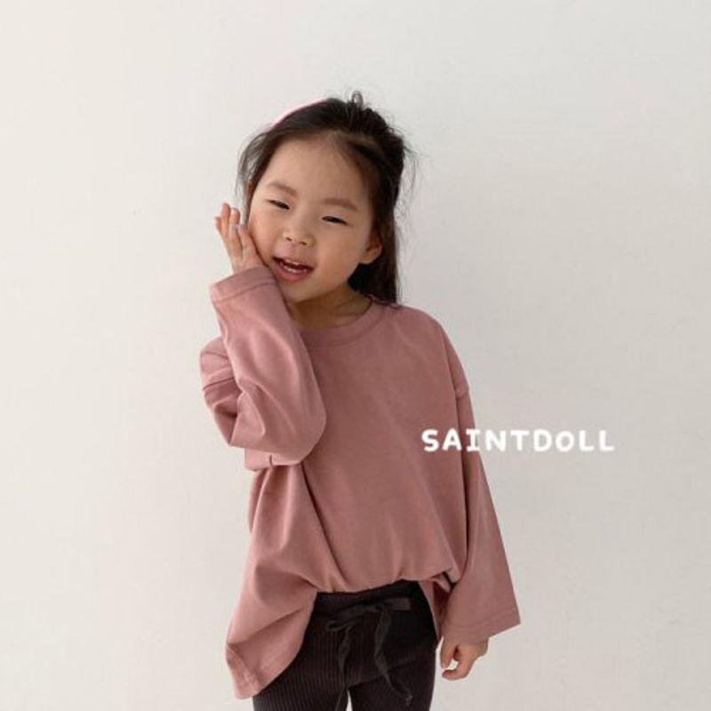 SAINT DOLL - BRAND - Korean Children Fashion - #Kfashion4kids - Boxy Tee