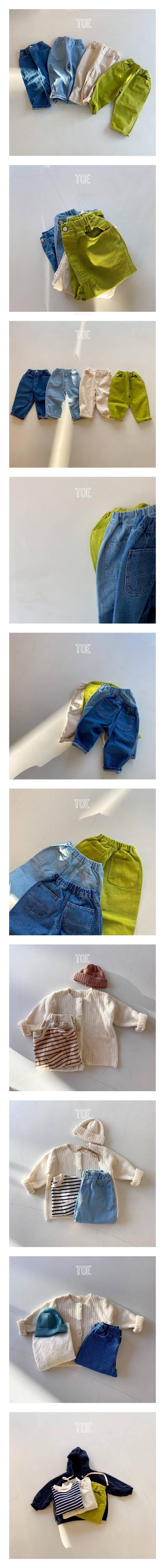 TOE - Korean Children Fashion - #Kfashion4kids - Mystery Jeans