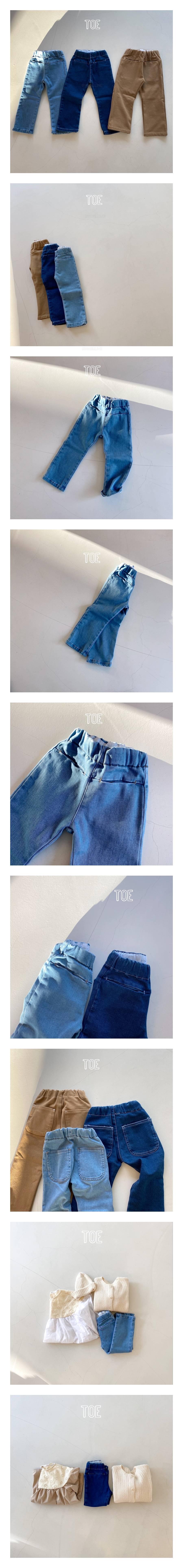 TOE - Korean Children Fashion - #Kfashion4kids - Spring Low Pants