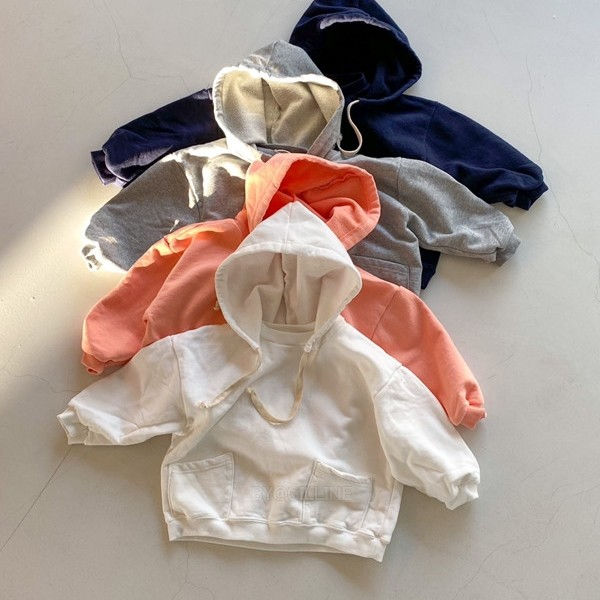 TOE - BRAND - Korean Children Fashion - #Kfashion4kids - Champion Hood T