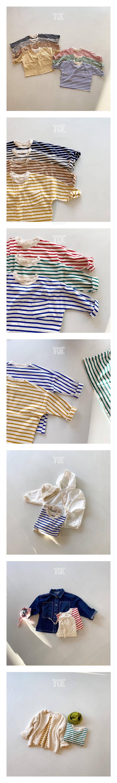 TOE - Korean Children Fashion - #Kfashion4kids - New Stripe T