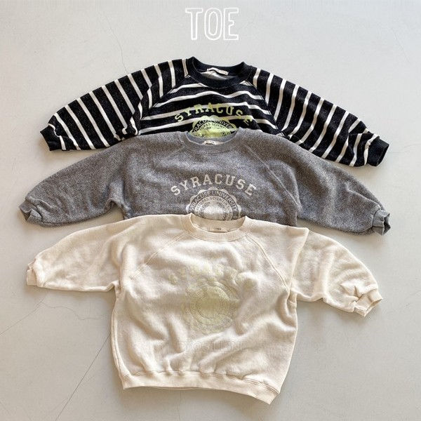 TOE - BRAND - Korean Children Fashion - #Kfashion4kids - Syracuse MtM T