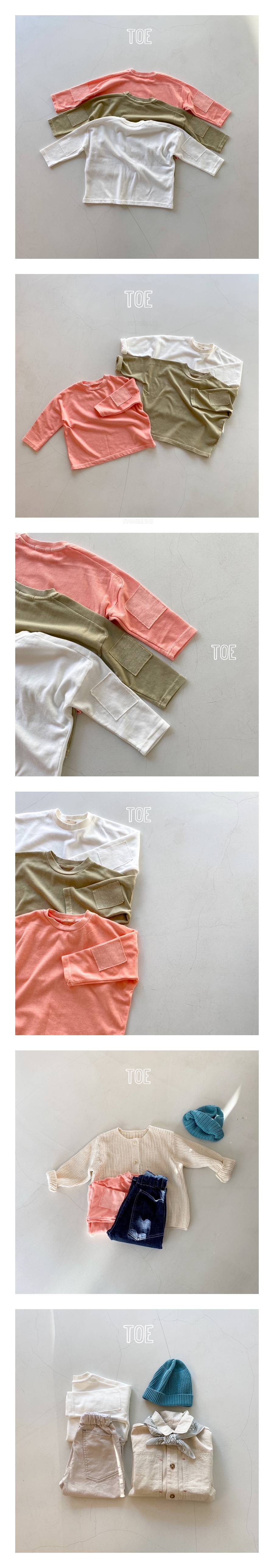 TOE - Korean Children Fashion - #Kfashion4kids - New Incision T