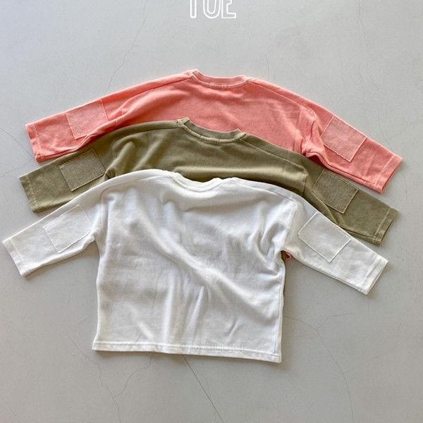 TOE - BRAND - Korean Children Fashion - #Kfashion4kids - New Incision T