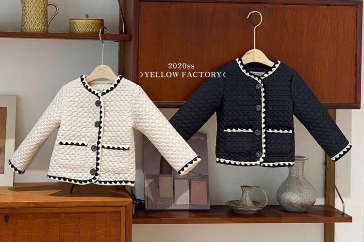 YELLOW FACTORY - BRAND - Korean Children Fashion - #Kfashion4kids - Jenny Jacket