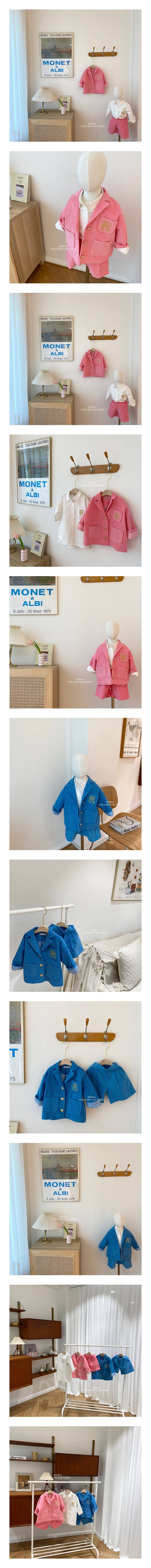 YELLOW FACTORY - Korean Children Fashion - #Kfashion4kids - Lauren Jacket