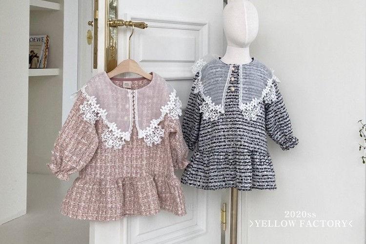 YELLOW FACTORY - BRAND - Korean Children Fashion - #Kfashion4kids - Coco Dress