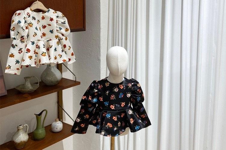 YELLOW FACTORY - BRAND - Korean Children Fashion - #Kfashion4kids - Camellia Blouse