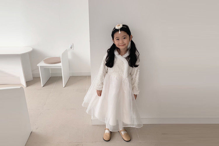 YELLOW FACTORY - BRAND - Korean Children Fashion - #Kfashion4kids - Wedding Dress