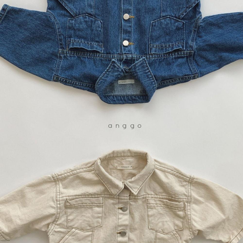 ANGGO - Korean Children Fashion - #Kfashion4kids - Fleco Jacket - 12