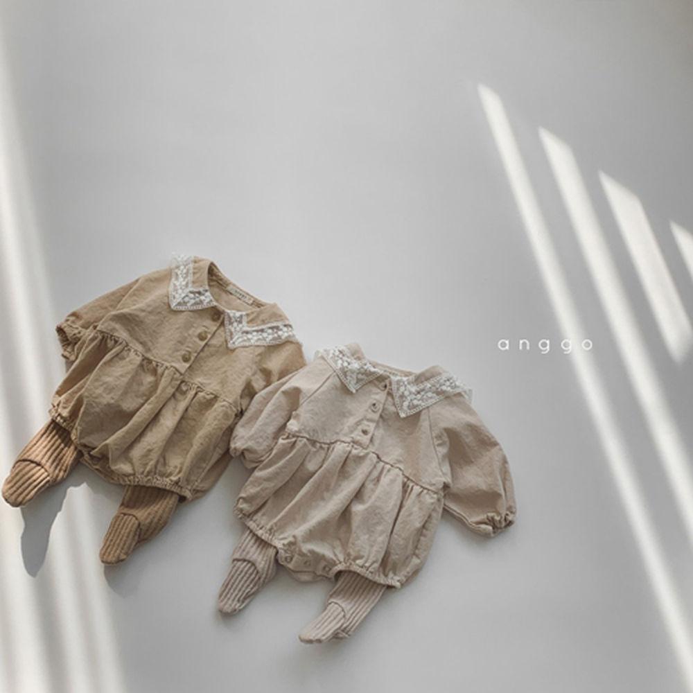 ANGGO - Korean Children Fashion - #Kfashion4kids - Bebe Churros Leggings - 10