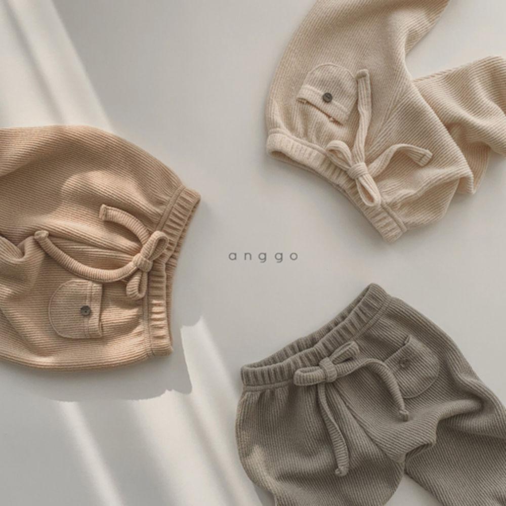 ANGGO - Korean Children Fashion - #Kfashion4kids - Pompom Pants - 4