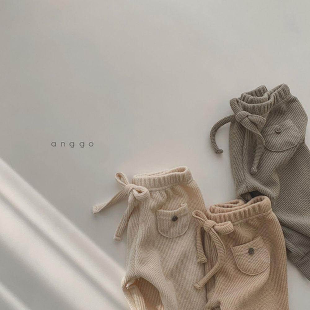 ANGGO - Korean Children Fashion - #Kfashion4kids - Pompom Pants - 7