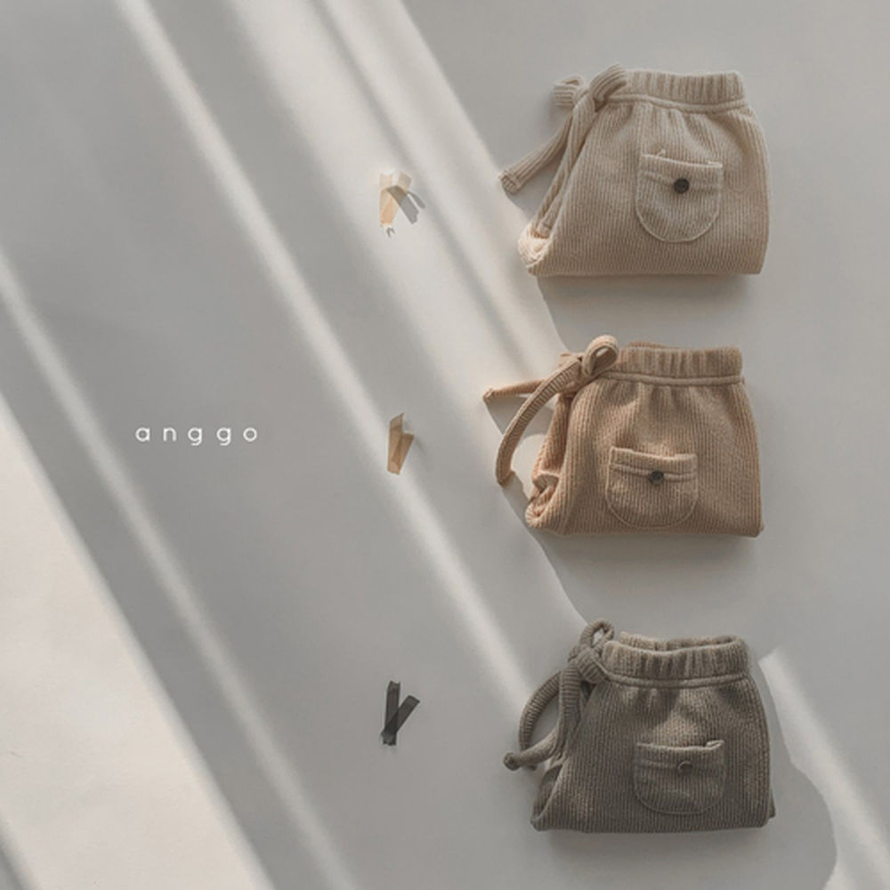 ANGGO - Korean Children Fashion - #Kfashion4kids - Pompom Pants - 8