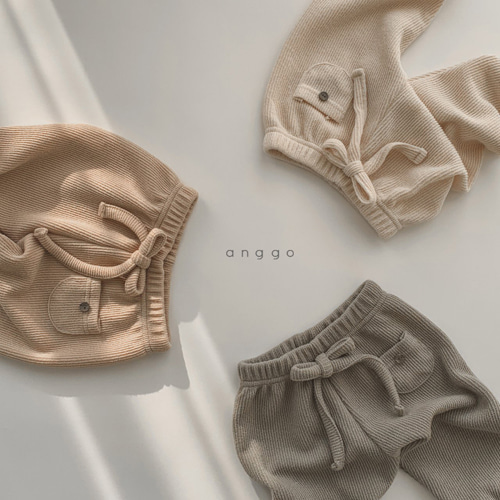ANGGO - BRAND - Korean Children Fashion - #Kfashion4kids - Pompom Pants
