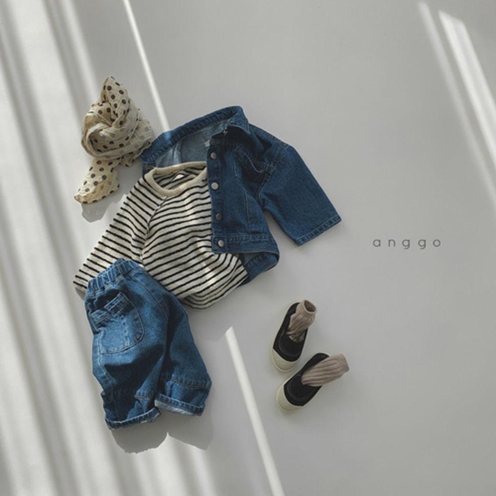 ANGGO - Korean Children Fashion - #Kfashion4kids - 201 Jeans - 4