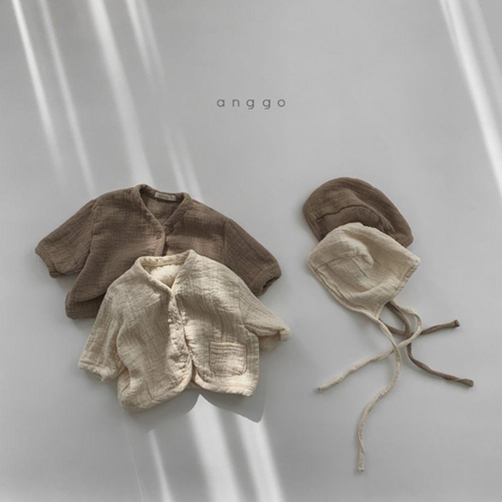 ANGGO - Korean Children Fashion - #Kfashion4kids - Bebe Whipping Cardigan