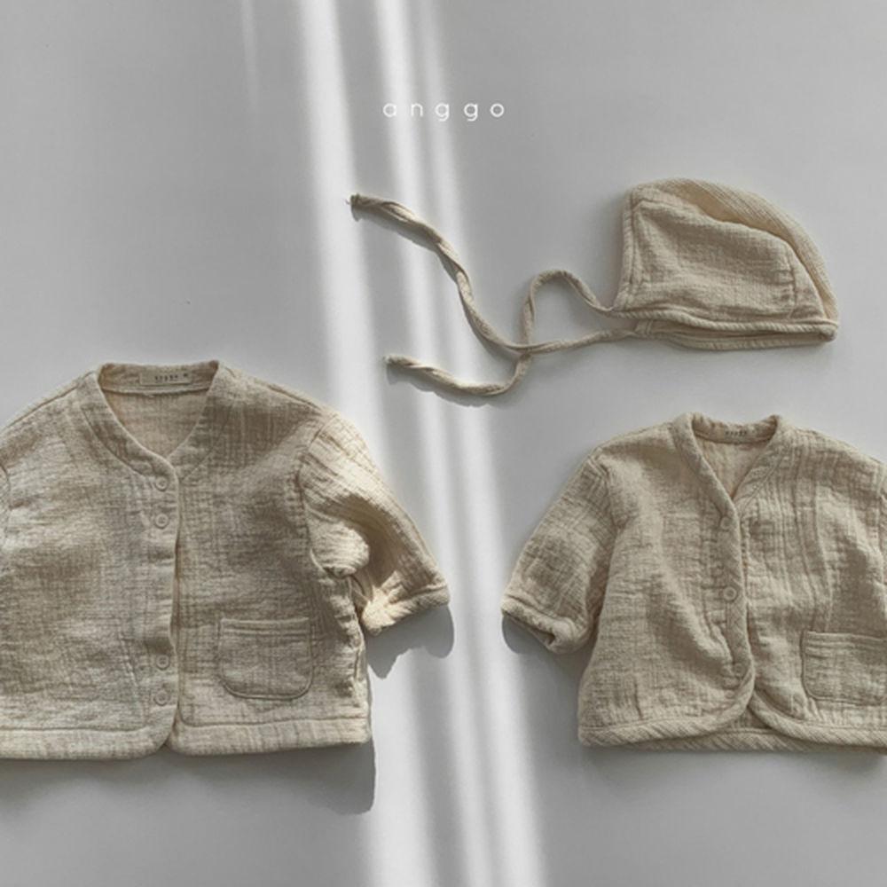 ANGGO - Korean Children Fashion - #Kfashion4kids - Bebe Whipping Cardigan - 10