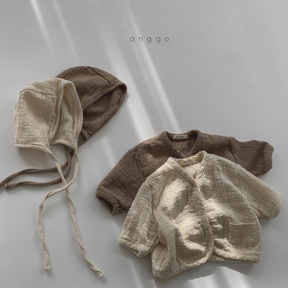 ANGGO - Korean Children Fashion - #Kfashion4kids - Bebe Whipping Cardigan - 3