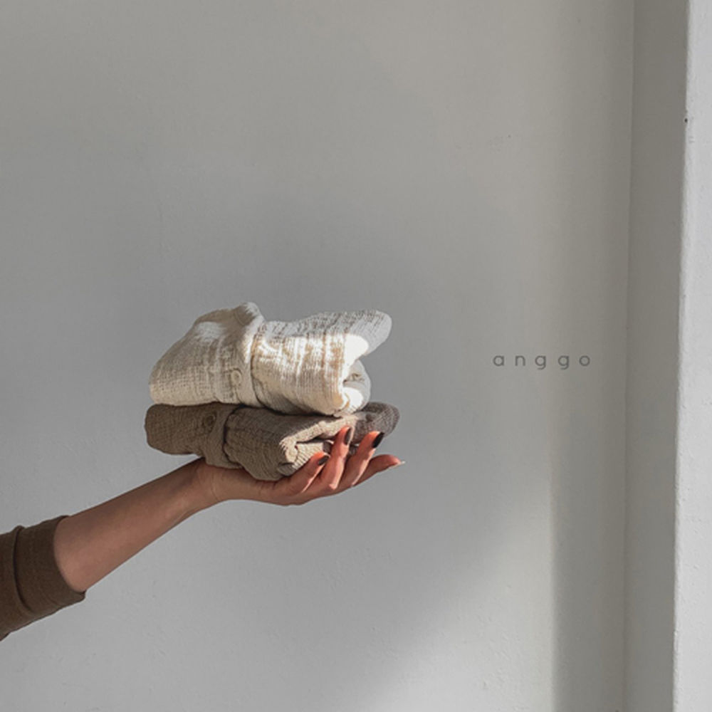 ANGGO - Korean Children Fashion - #Kfashion4kids - Bebe Whipping Cardigan - 7
