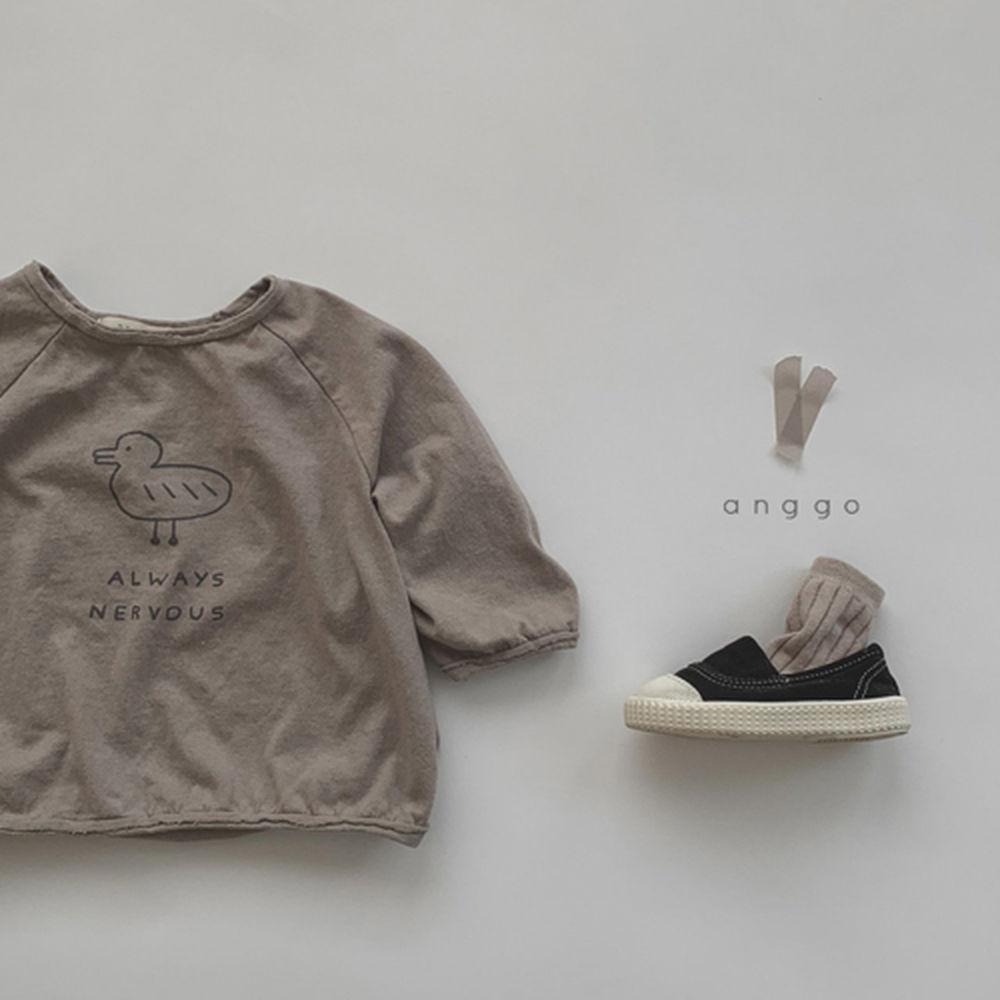 ANGGO - Korean Children Fashion - #Kfashion4kids - Duck Tee - 10