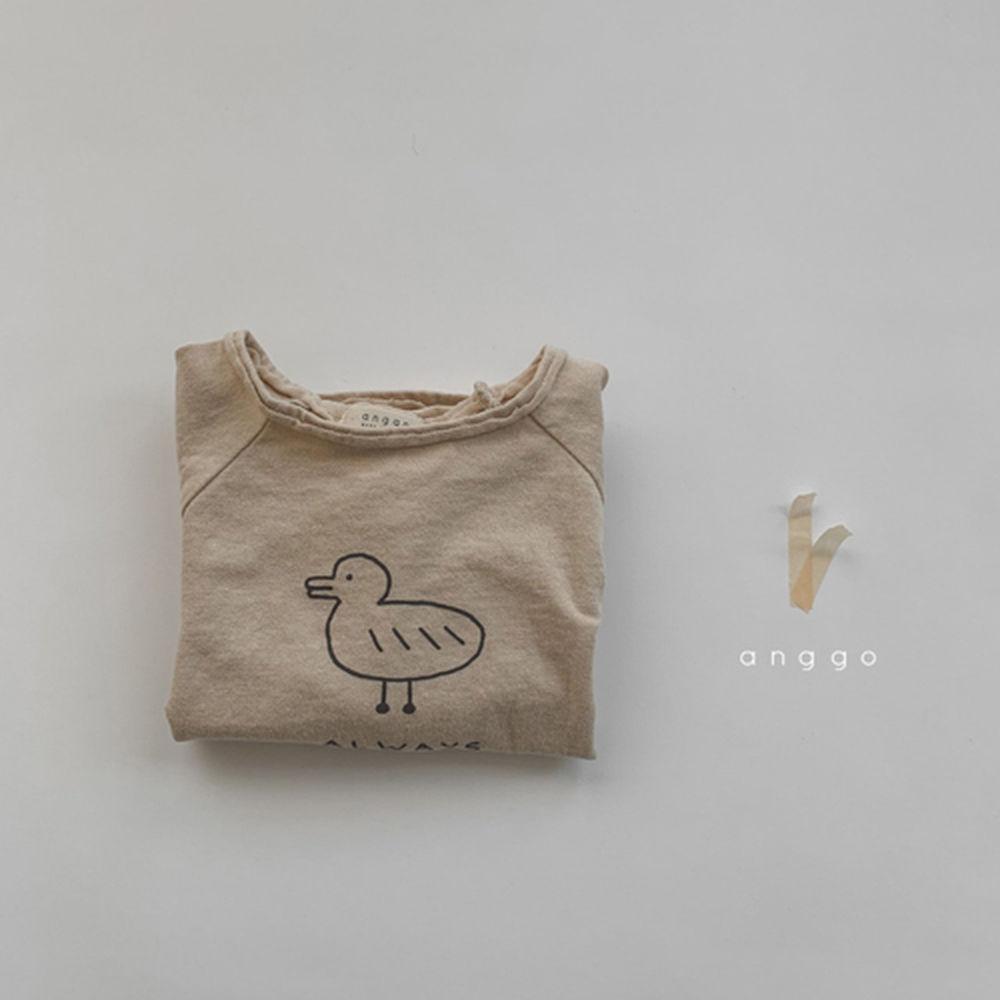 ANGGO - Korean Children Fashion - #Kfashion4kids - Duck Tee - 11