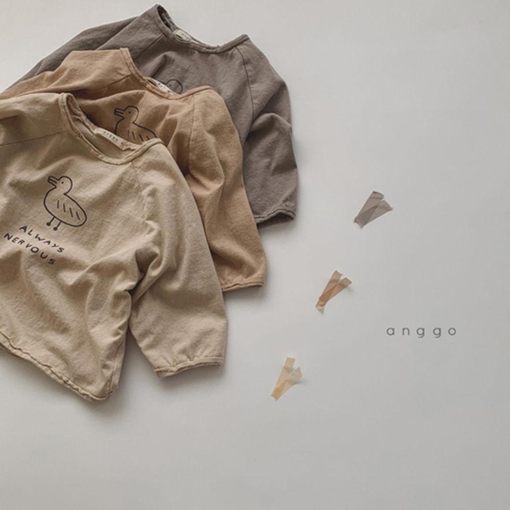 ANGGO - Korean Children Fashion - #Kfashion4kids - Duck Tee - 3