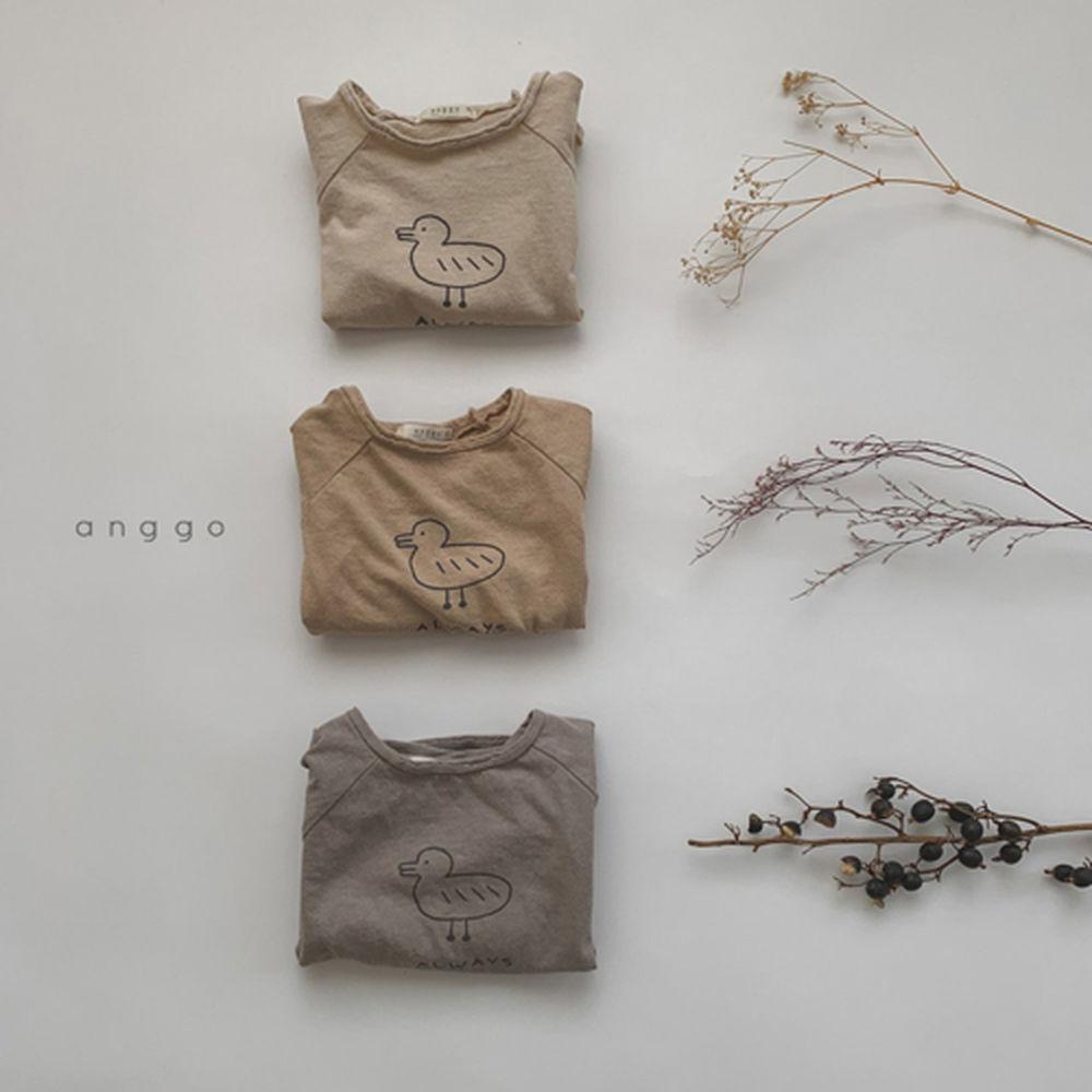 ANGGO - Korean Children Fashion - #Kfashion4kids - Duck Tee - 4