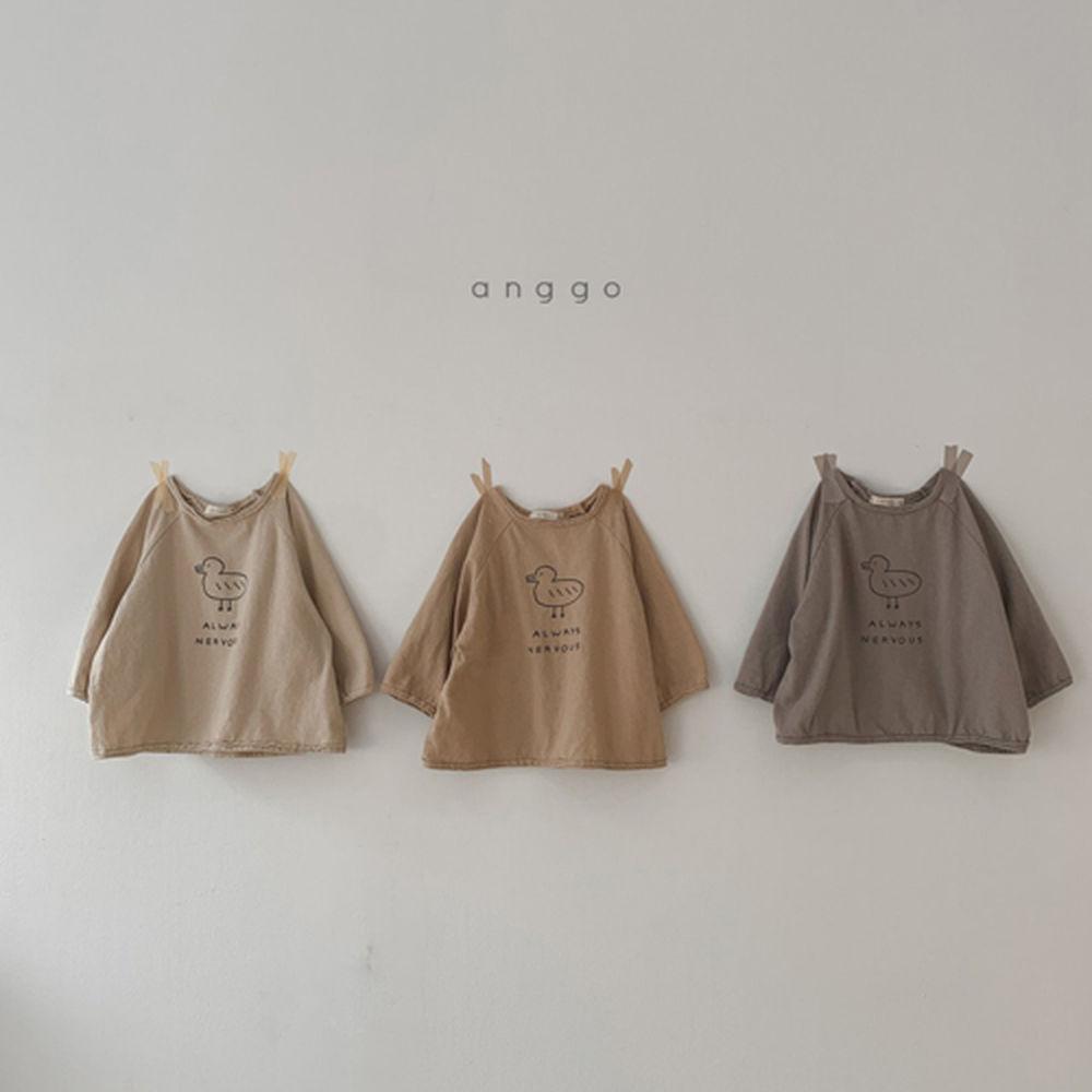 ANGGO - Korean Children Fashion - #Kfashion4kids - Duck Tee - 5
