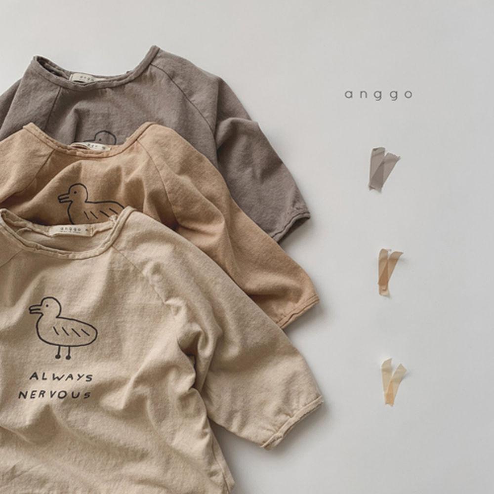 ANGGO - Korean Children Fashion - #Kfashion4kids - Duck Tee - 6