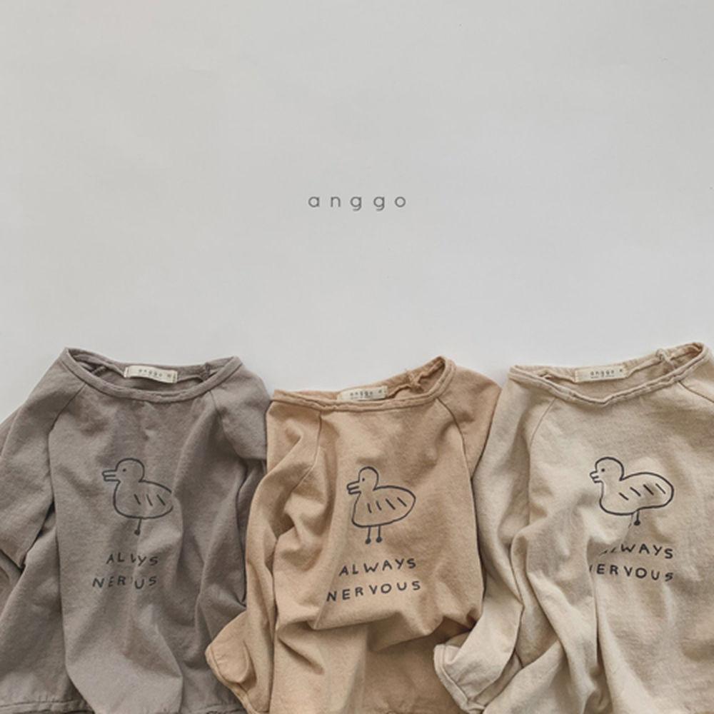 ANGGO - Korean Children Fashion - #Kfashion4kids - Duck Tee - 7
