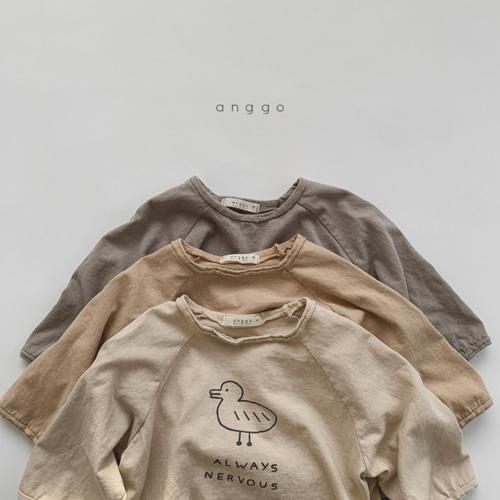 ANGGO - BRAND - Korean Children Fashion - #Kfashion4kids - Duck Tee