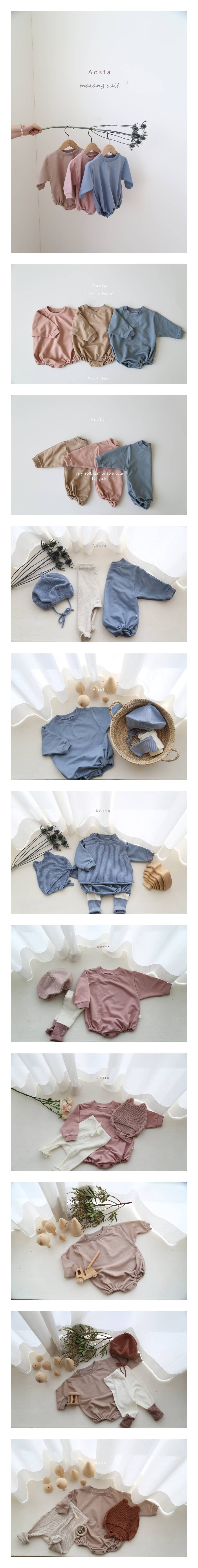AOSTA - Korean Children Fashion - #Kfashion4kids - Malang Bodysuit